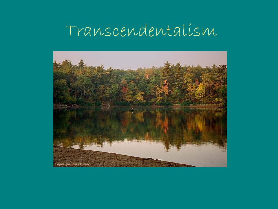 Who were the Transcendentalists.