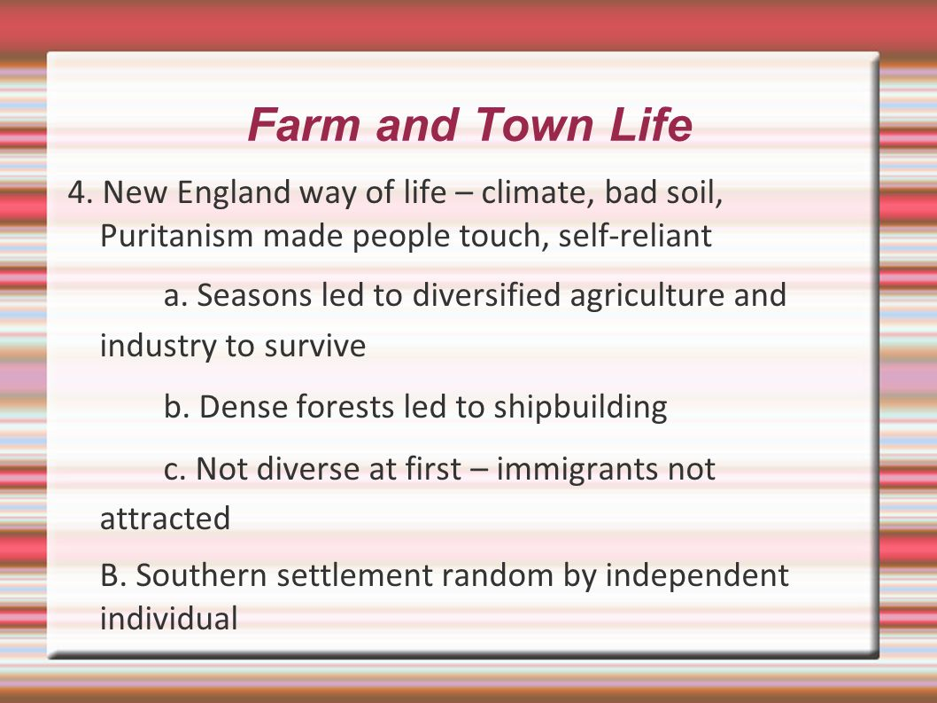 Farm and Town Life 4.