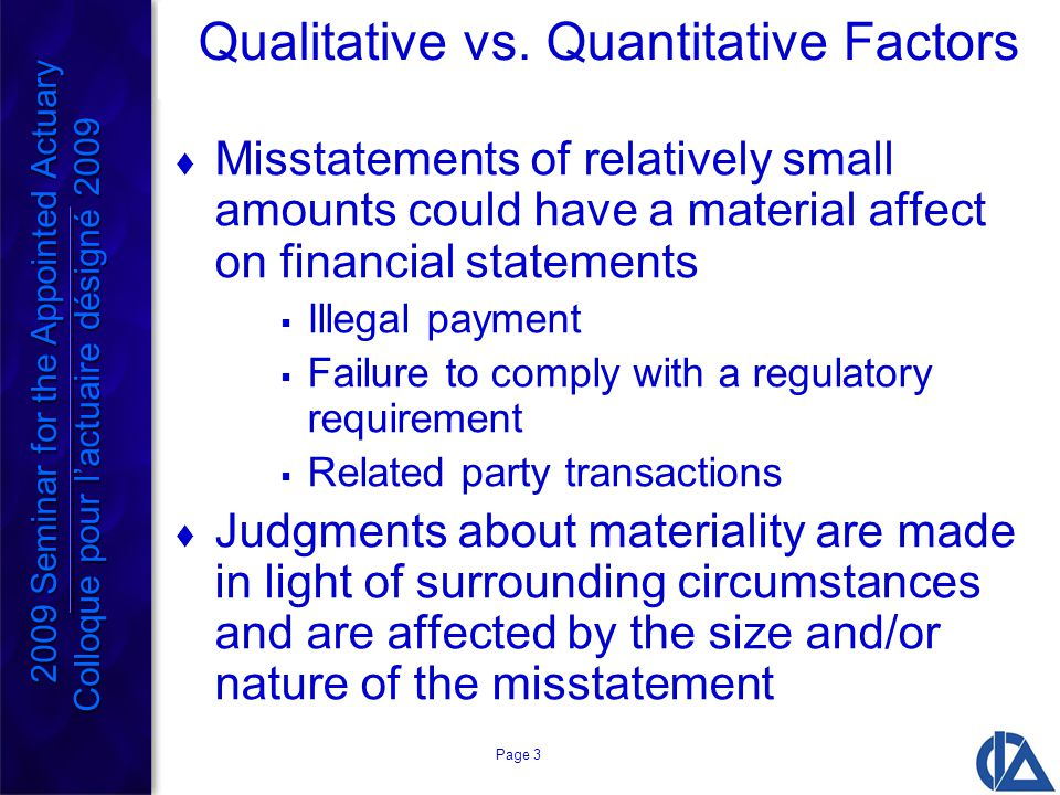 Page 3 Qualitative vs.
