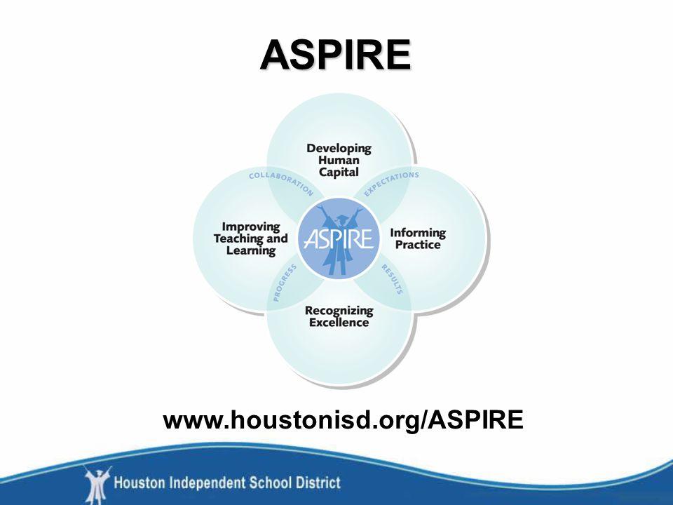 ASPIRE www.houstonisd.org/ASPIRE