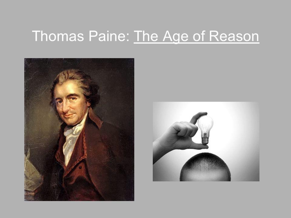 Thomas Paine: The Age of Reason