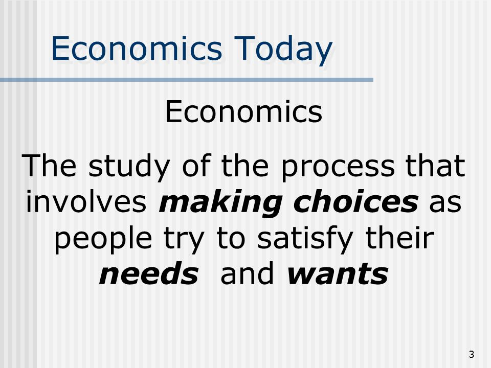 2 Consumer Roles in Economy Personal Economic Analysis - The study of the roles people play in an economic system.