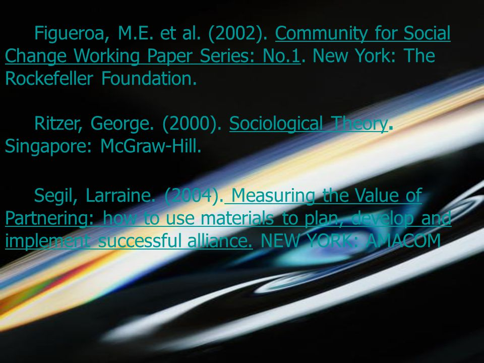 5/1/2015choomsak28 Figueroa, M.E. et al. (2002).