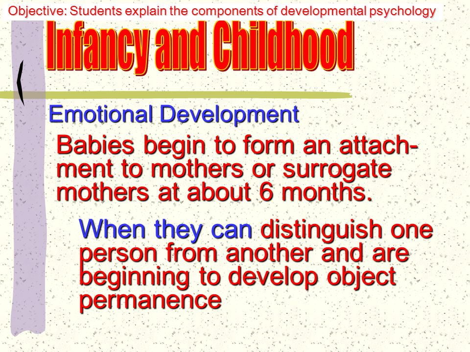Emotional Development: Harlow's Experiments Would not play, mate, or defend themselves.