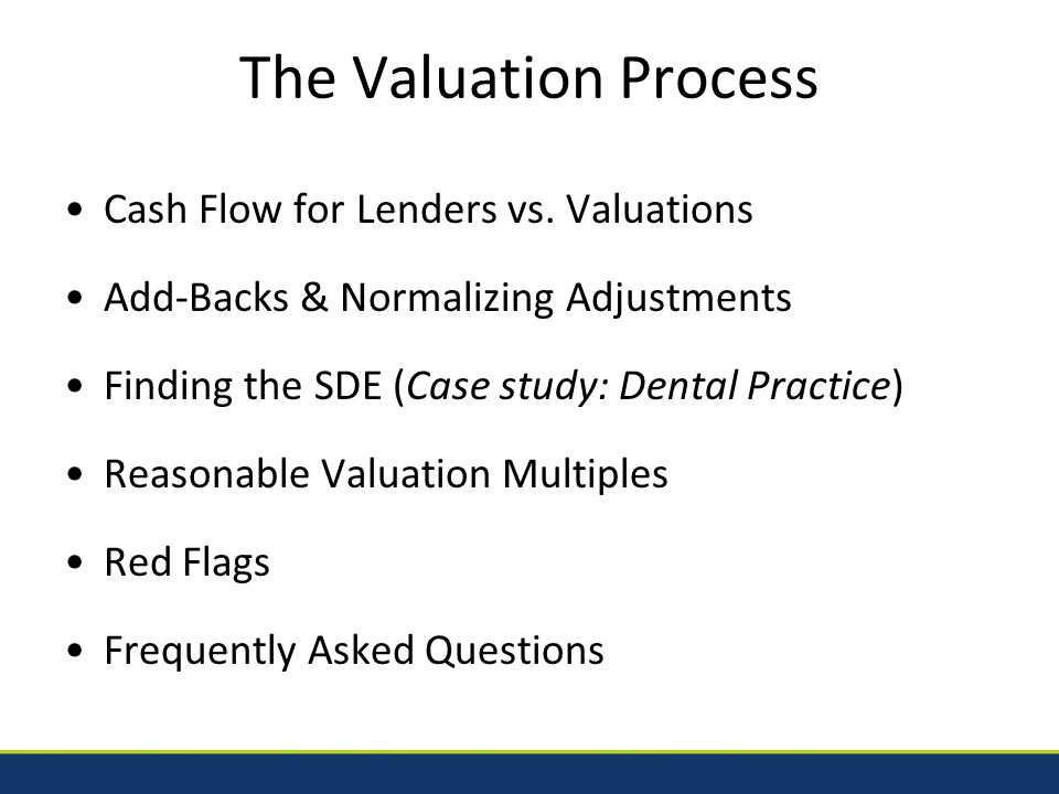 Which Multiple is Reasonable? 2014 SESBLC20