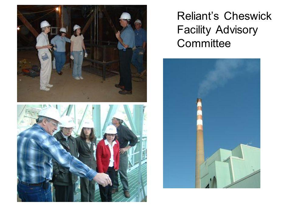 Reliant's Cheswick Facility Advisory Committee