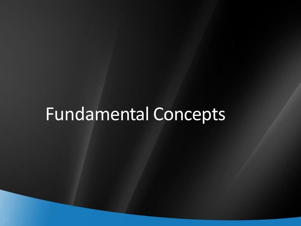 21 Fundamental Concepts