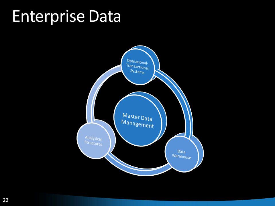 22 Enterprise Data