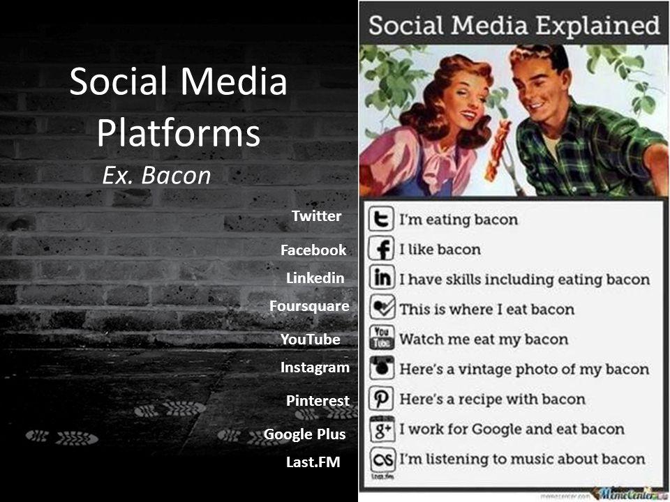 Social Media Platforms Ex.