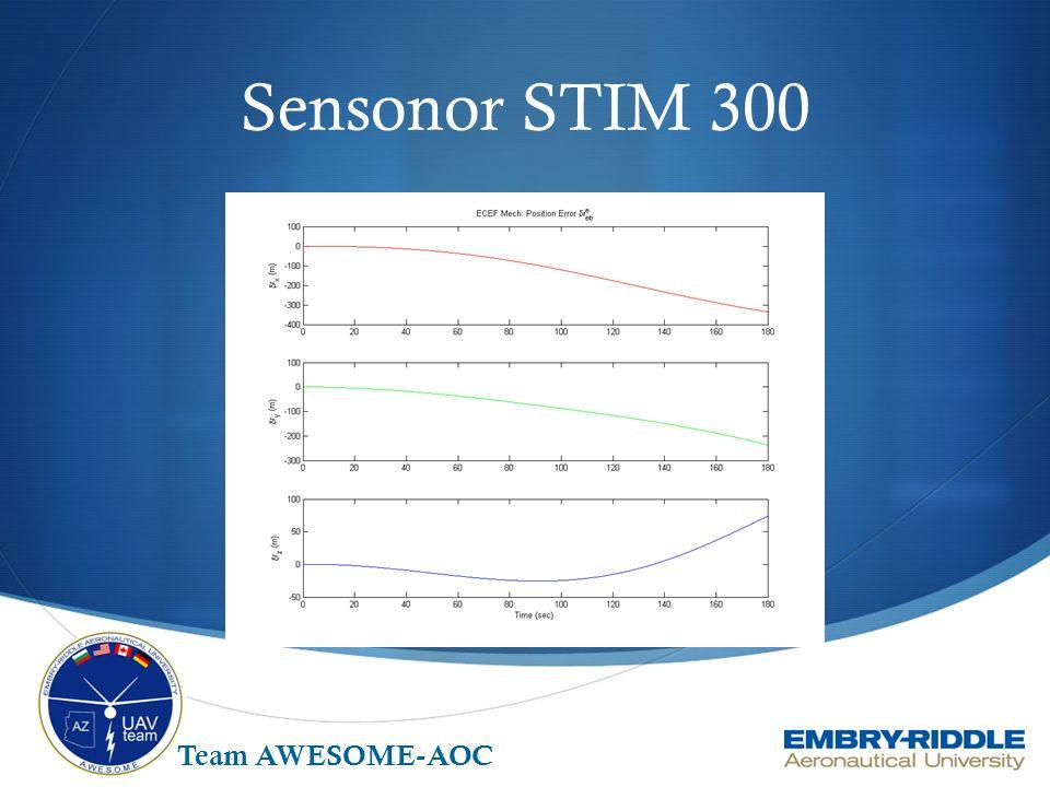 Sensonor STIM 300 Team AWESOME-AOC