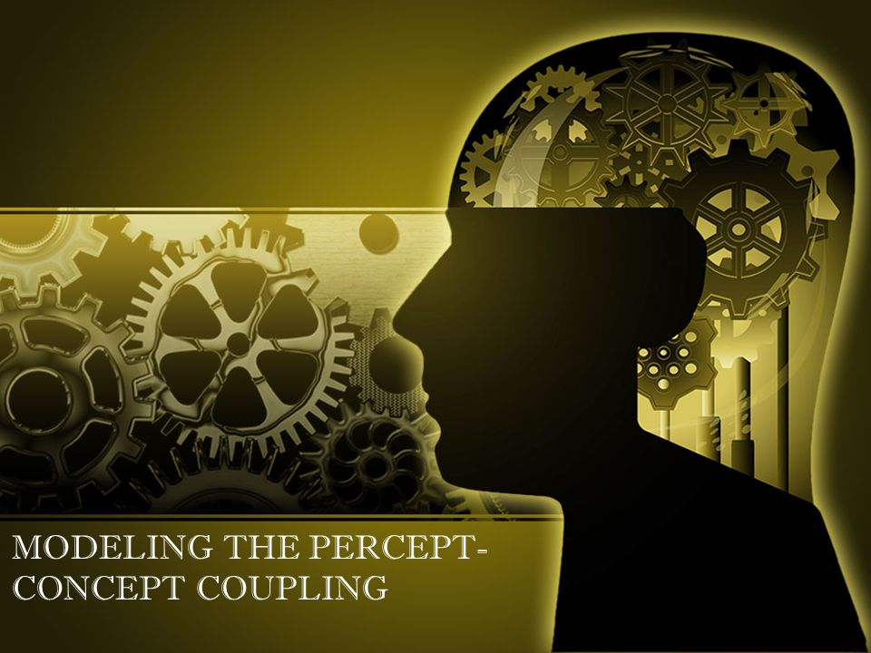 MODELING THE PERCEPT- CONCEPT COUPLING