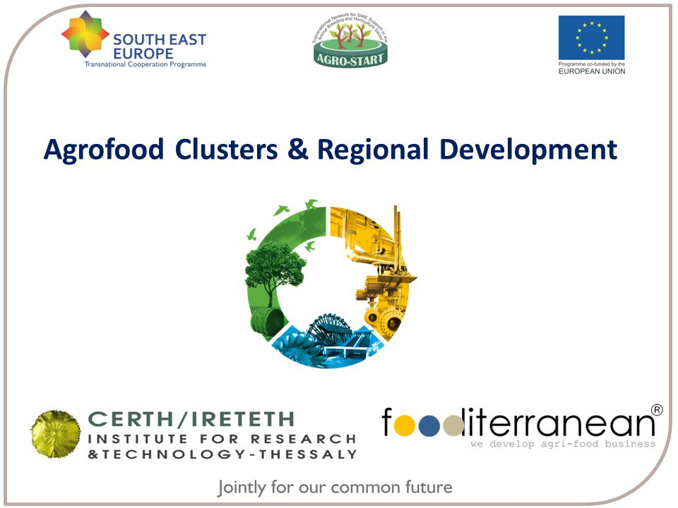 Agrofood Clusters & Regional Development