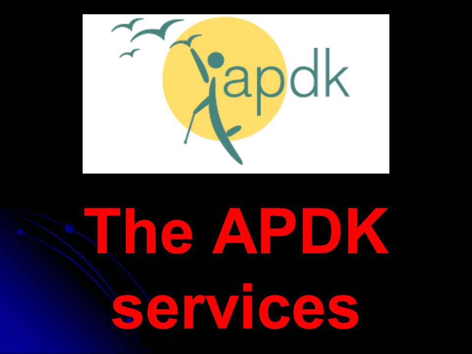 The APDK services