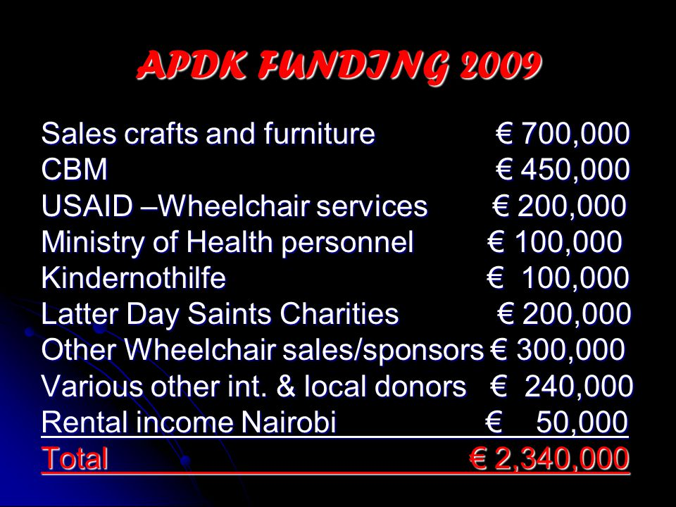 The APDK services