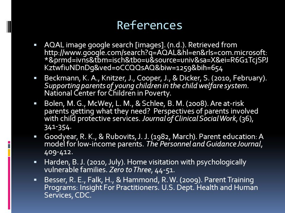 References  AQAL image google search [images]. (n.d.).