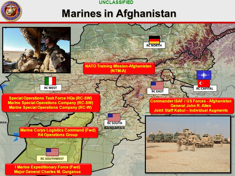 UNCLASSIFIED 5 KANDAHAR I Marine Expeditionary Force (Fwd) Major General Charles M.