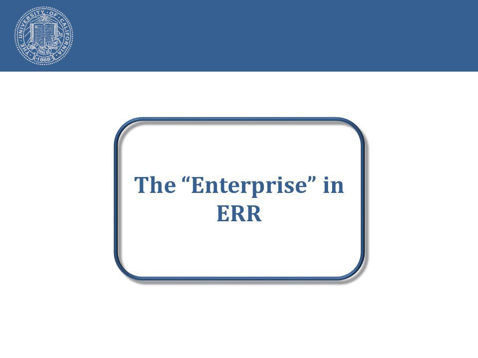 The Enterprise in ERR