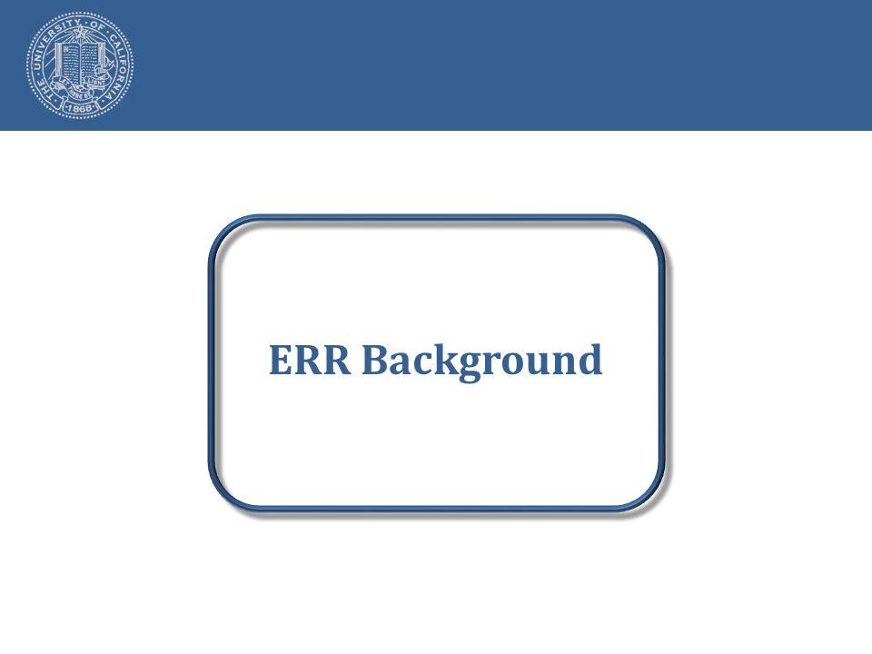 ERR Background
