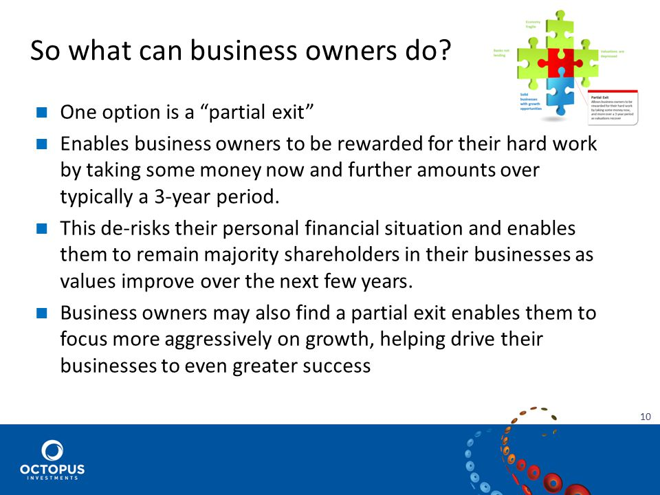 So what can business owners do.