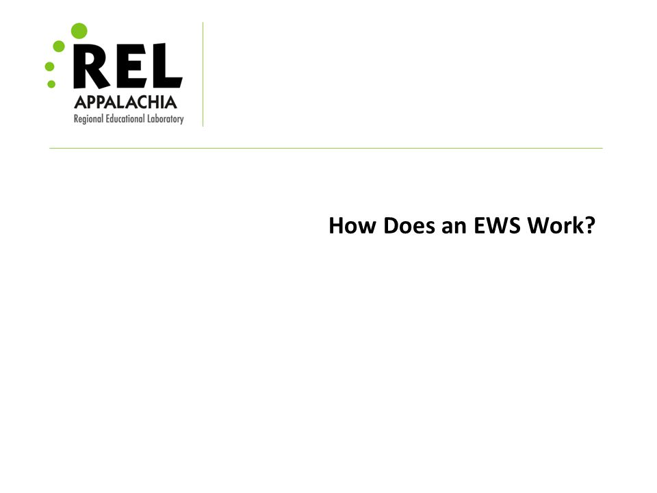 How Does an EWS Work
