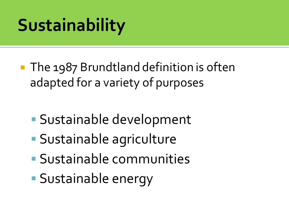 Are humans living sustainably.