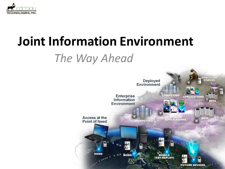 Joint Information Environment What is it, anyways!.