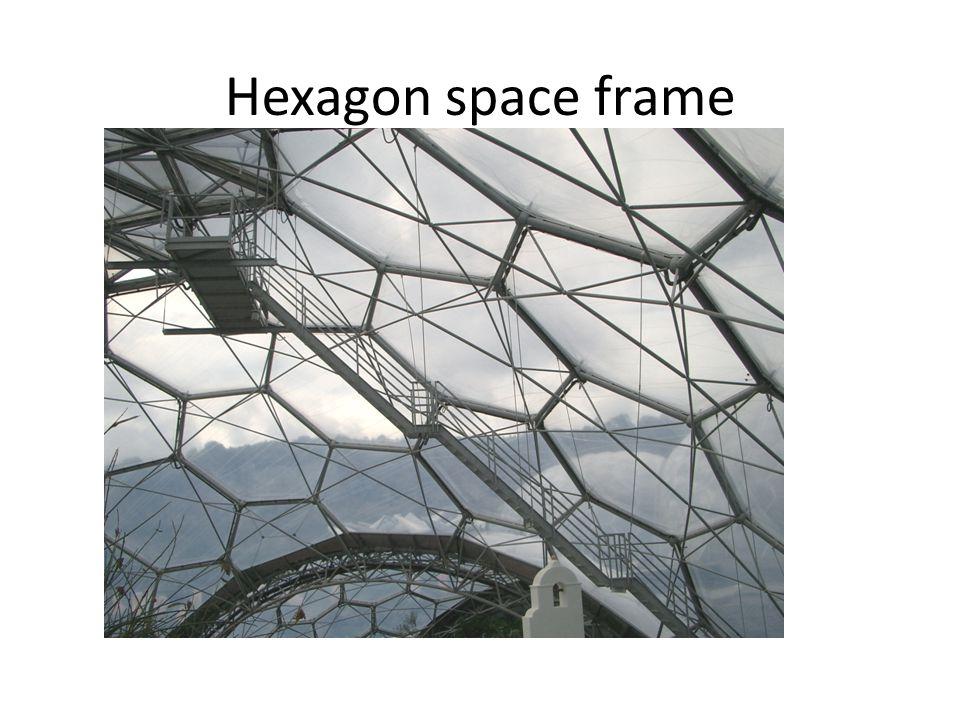 Hexagon space frame