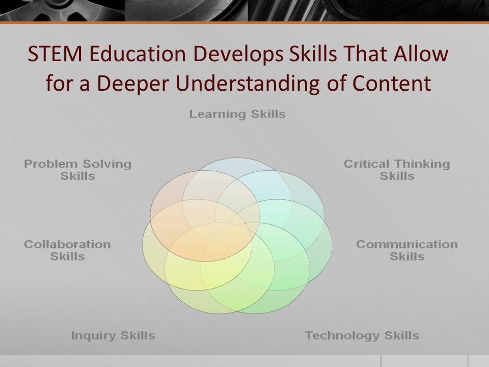 STEM Education Develops Skills That Allow for a Deeper Understanding of Content