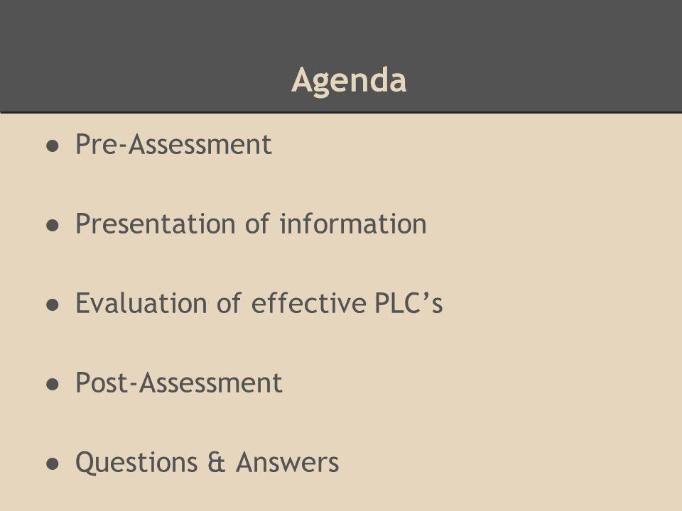 PLC Frameworks District Example (Riichmond & Manokore 2011)