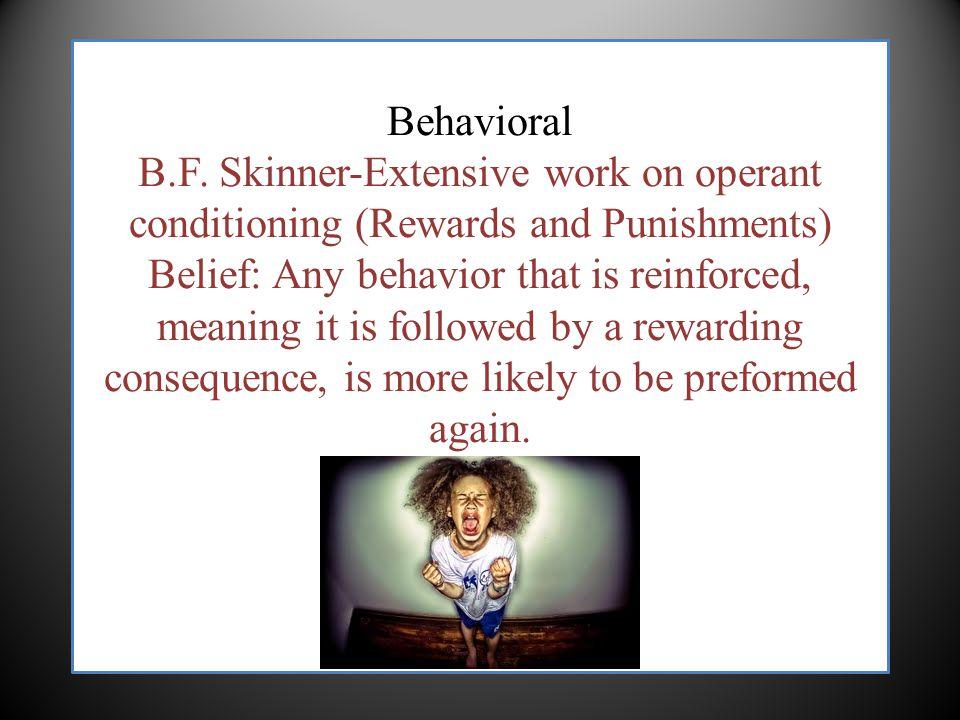 Behavioral B.F.