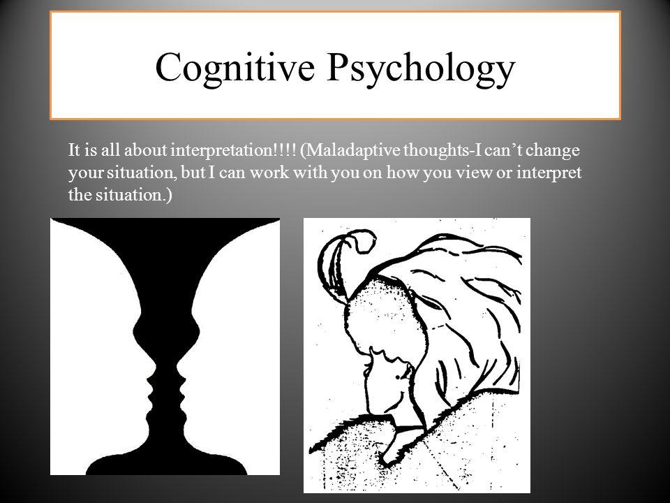 Cognitive Psychology It is all about interpretation!!!.
