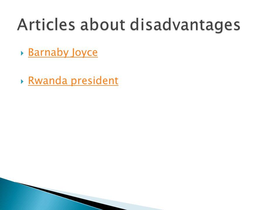  Barnaby Joyce Barnaby Joyce  Rwanda president Rwanda president