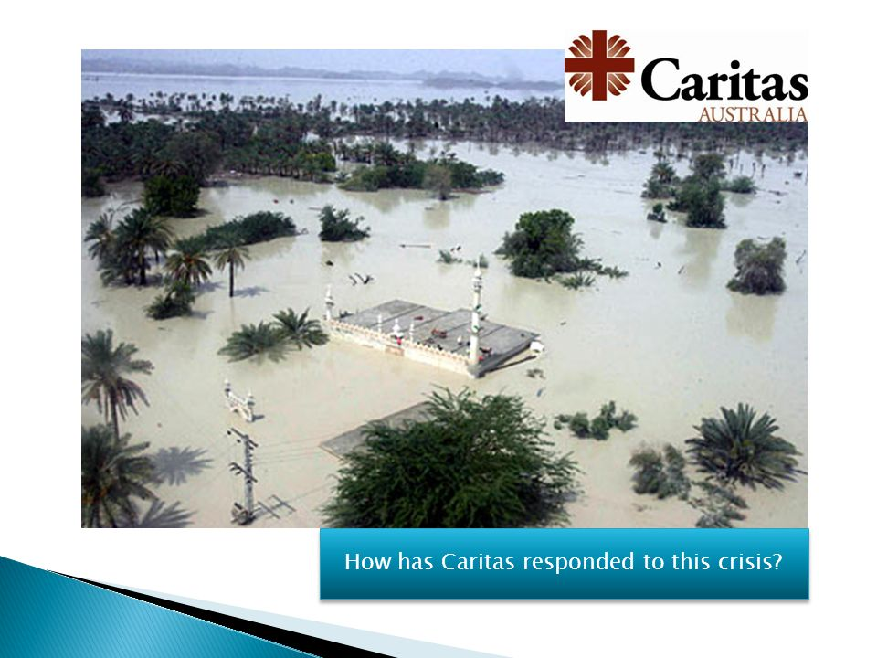 How has Caritas responded to this crisis?