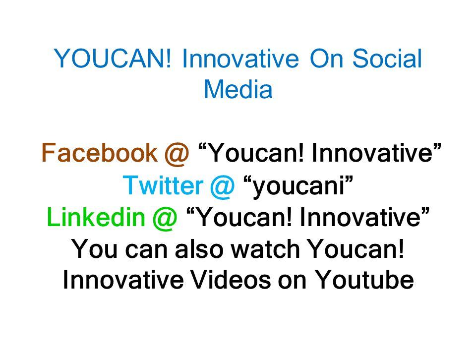 YOUCAN . Innovative On Social Media Facebook @ Youcan.