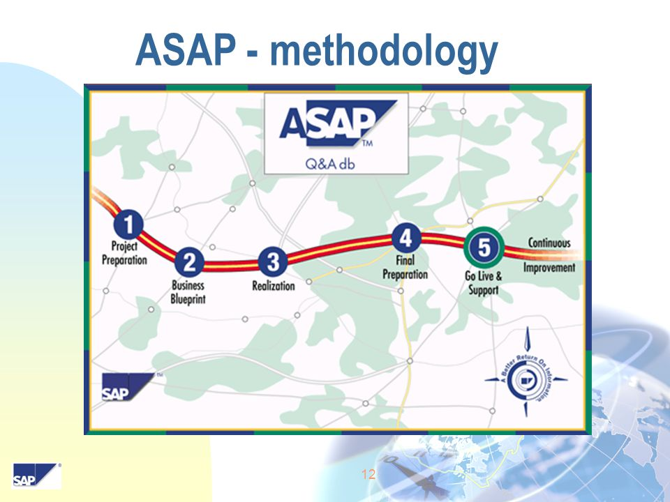 12 ASAP - methodology