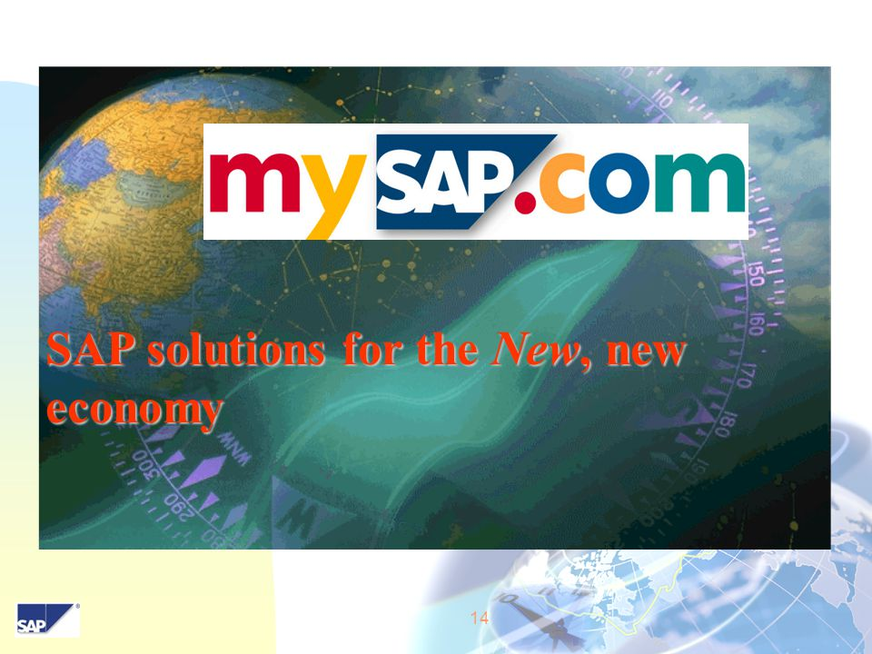14 SAP solutions for the New, new economy