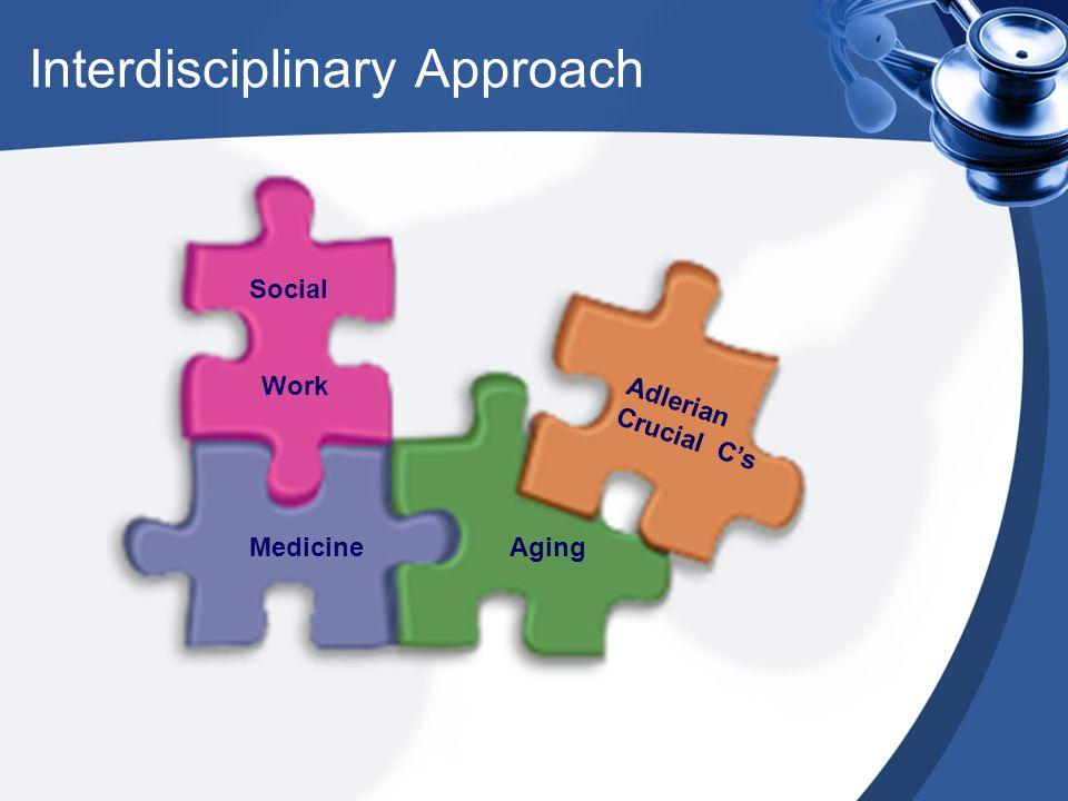 Social Work MedicineAging Adlerian Crucial C's Interdisciplinary Approach