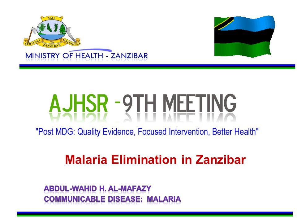 Malaria Elimination in Zanzibar