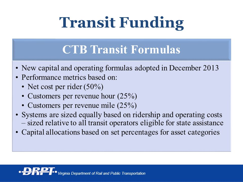 3 | Overview Transit Service Delivery Advisory Committee (TSDAC), Phase III Implementation Plan Data Collection Practices Sizing Measures Exceptional Performance Measures Other Possible Performance Measures o Congestion Mitigation o Fulfillment of Transit Dependent Outcomes