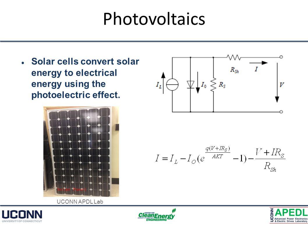 Photovoltaics – Cont.