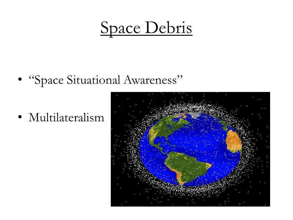 Space Debris Space Situational Awareness Multilateralism