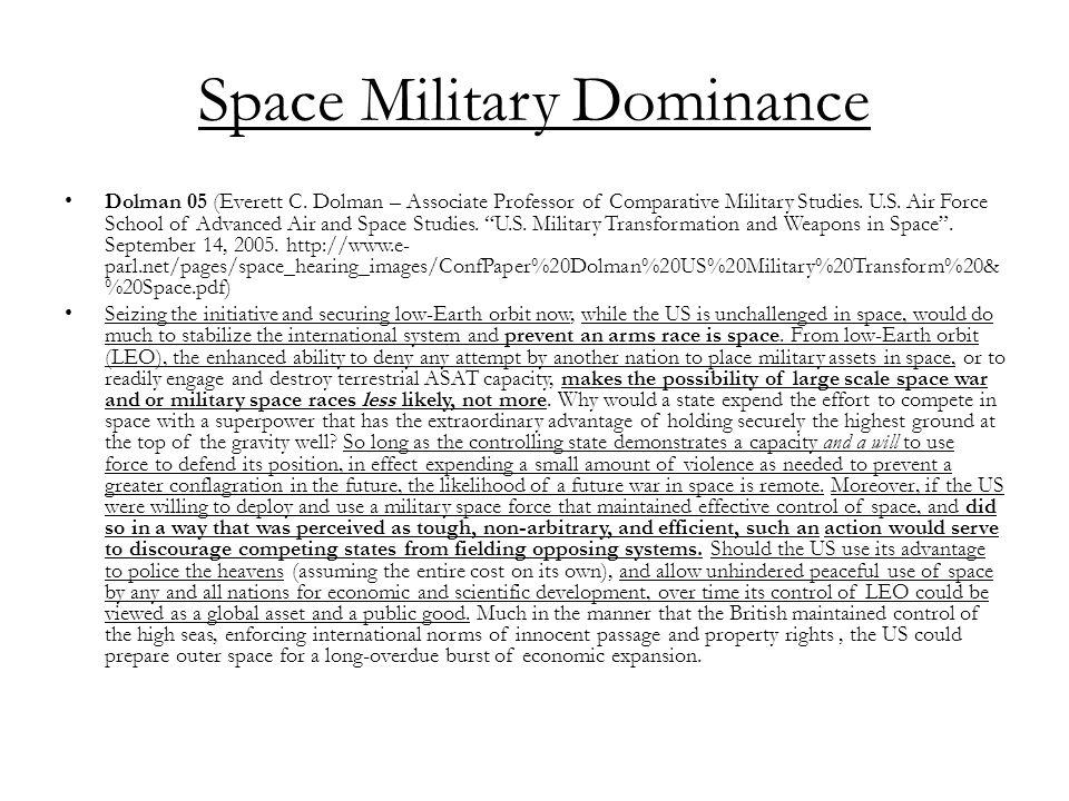 Space Military Dominance Dolman 05 (Everett C.