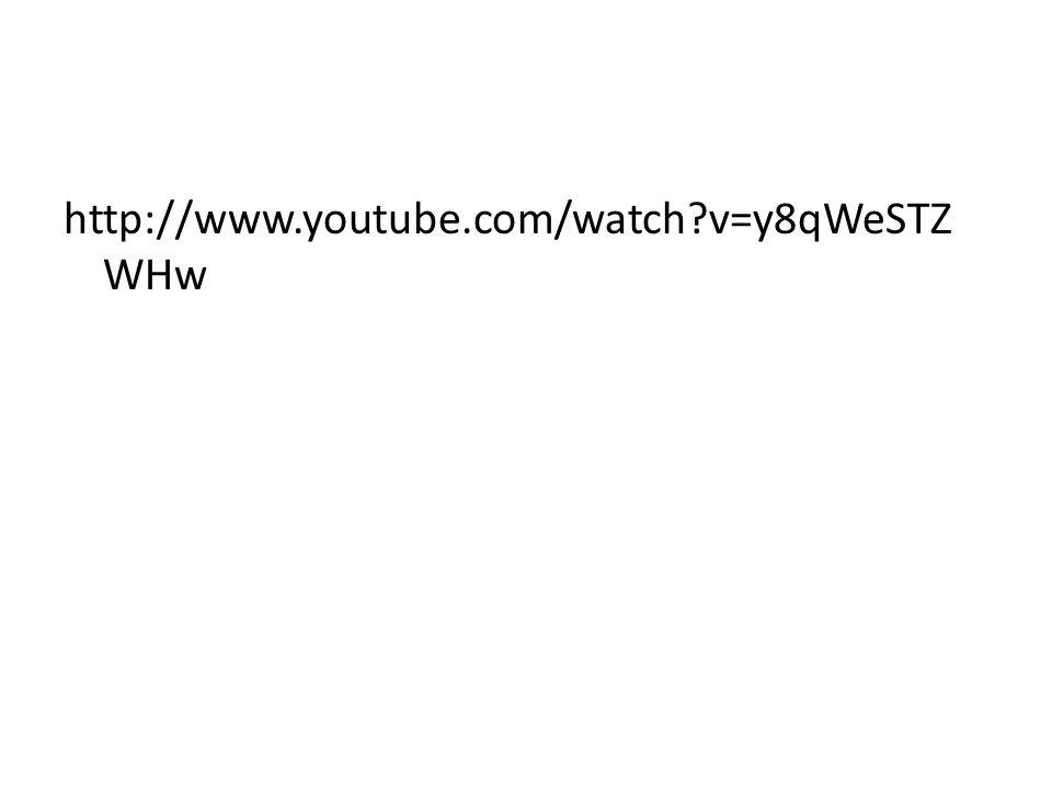http://www.youtube.com/watch v=y8qWeSTZ WHw