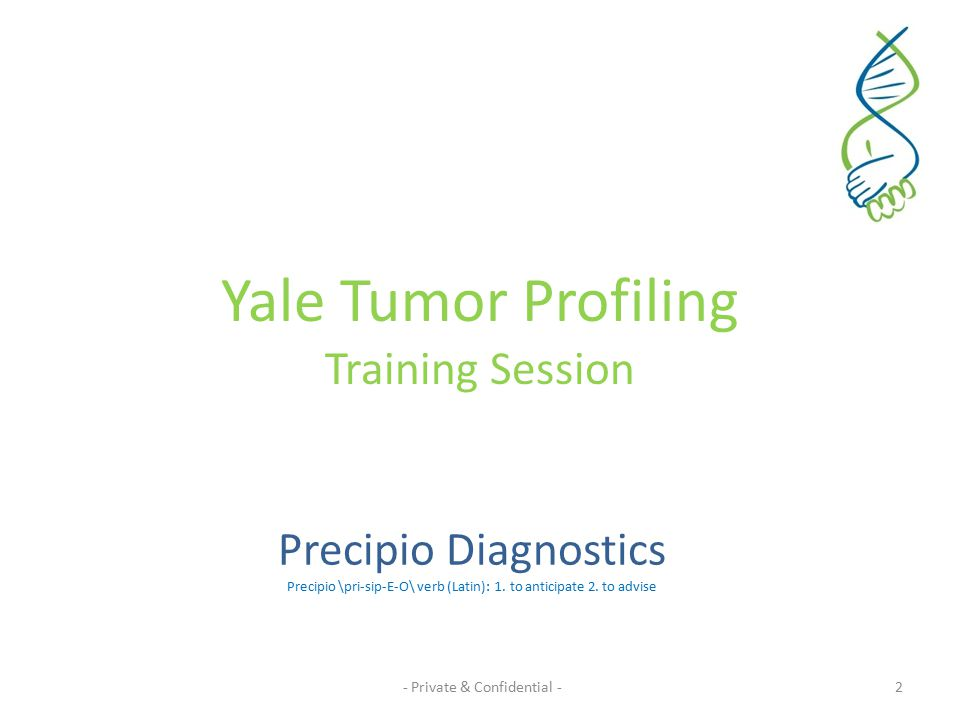 Agenda 1.Our Vision 2.Targeted Customers 3.Tumor Profiling – Case study – Background & Philosophy of the Tumor Profile lab and Dr.