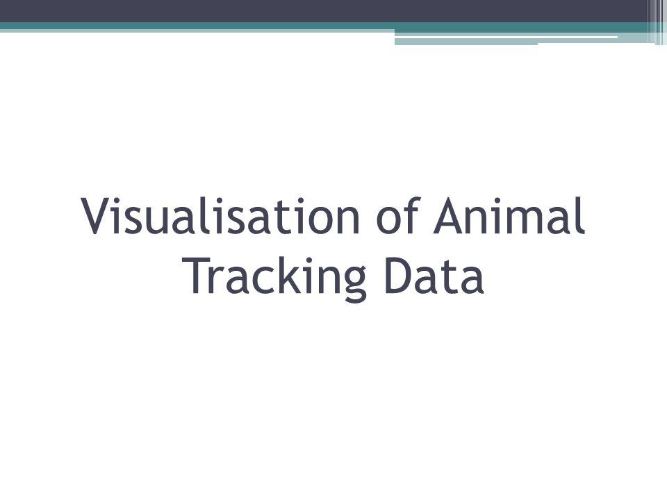Visualisation of Animal Tracking Data