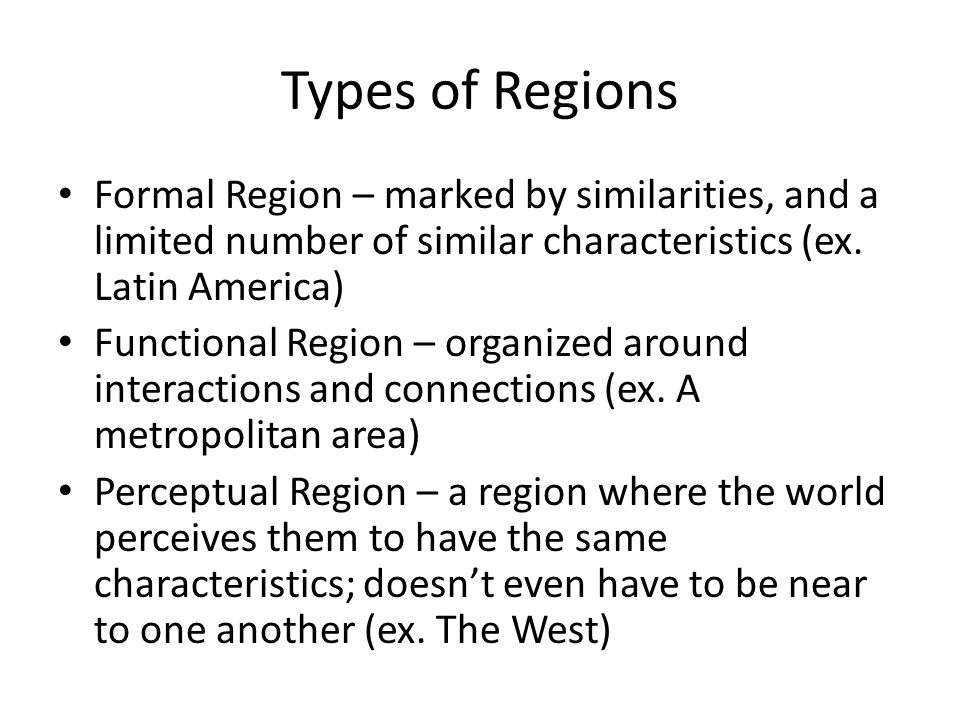 Climate Regions The biggest determining factor of a given locations climate is LATITUDE.