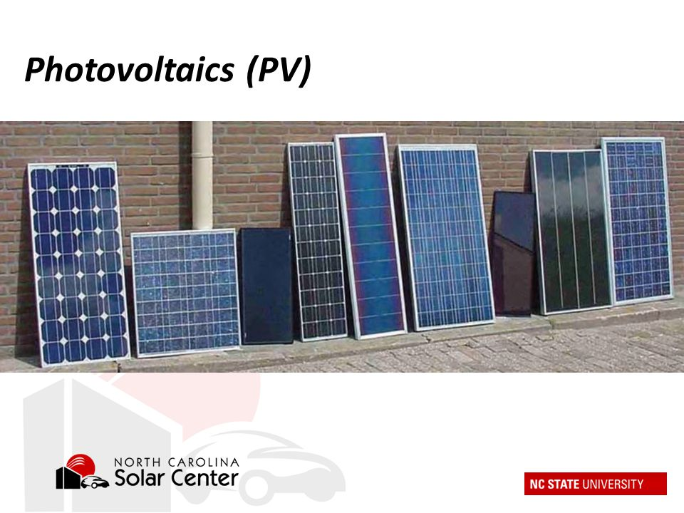 Photovoltaics (PV)