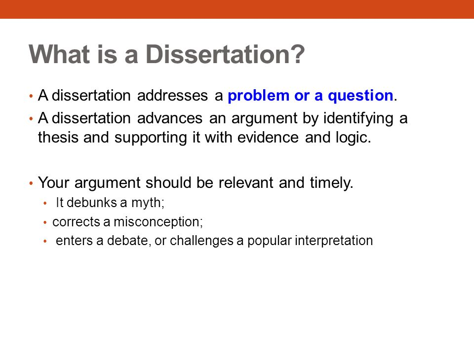 What Is Dissertation Research