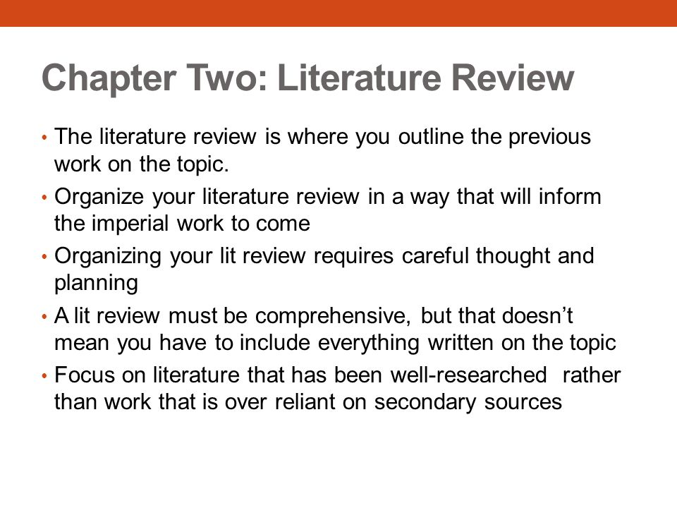 How To Write Your Dissertation Lit Review