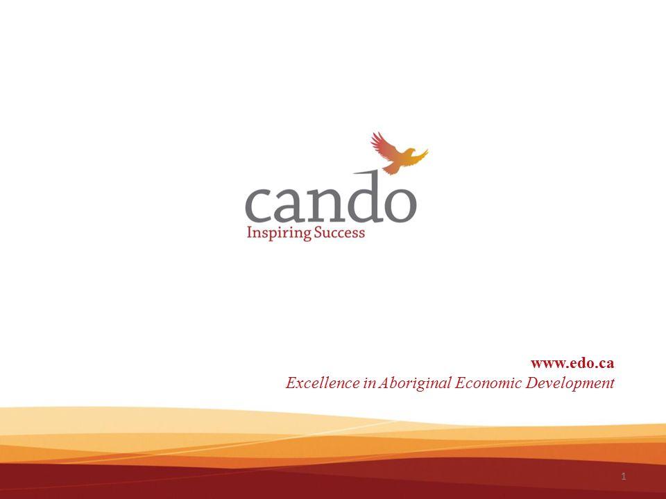 1 www.edo.ca Excellence in Aboriginal Economic Development